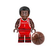 Фигурка баскетболист Трэйси Ламар Макгрэди совместима с лего