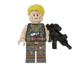Фигурка Стандартный скин из игры Fortnite совместимая с Лего