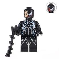 Минифигурка Веном (Venom) с цепью совместимая с Лего