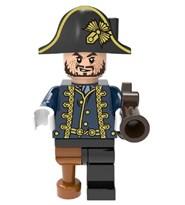 Фигурка совместимая с Лего Гектор Барбосса с пистолетом Пираты Карибского моря