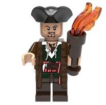Фигурка Скрам из фильма Пираты Карибского моря совместимая с Лего