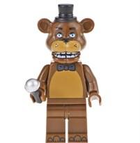 Фигурка Фредди из 5 ночей с Фредди совместима с лего
