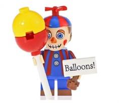 Фигурка мальчик с шариком из 5 ночей с Фредди совместима с лего