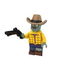 Фигурка совместима с лего Зомби ковбой Plants vs. Zombies