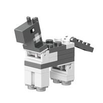 Фигурка совместима с лего Лошадь белая из игры Майнкрафт