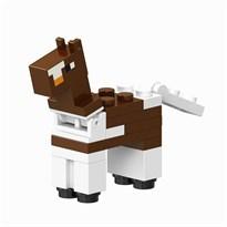 Фигурка совместима с лего Лошадь коричневая из игры Майнкрафт