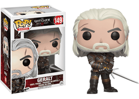 Фигурка Геральта Ведьмак (Witcher Geralt Pop) №149 купить в Москве