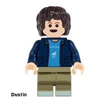 Минифигурка Дастин Очень странные дела (Stranger Things) совместима с лего купить