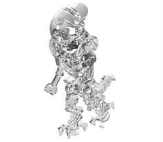 Фигурка совместима с лего прозрачный Чужой