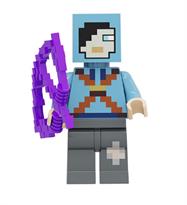 Фигурка совместима с лего Лучник из игры Майнкрафт