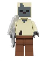 Фигурка совместима с лего Фермер из игры Майнкрафт
