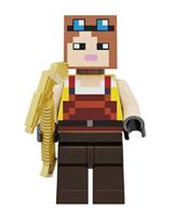 Фигурка совместима с лего Пилот из игры Майнкрафт
