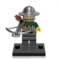 Фигурка совместима с лего Рыцарь лучник