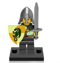 Фигурка совместима с лего рыцарь (Dragon Knight)