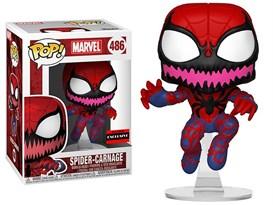 Фигурка Паук-Карнаж (Spider-Man Spider-Carnage Pop! Vinyl Figure - Exclusive) № 486