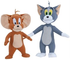 Набор Мягких игрушек кот Том и мышонок Джерри (Tom y Jerry) 35 см
