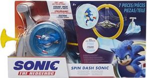 Игровой набор Ежик Соник в колесе (Sonic The Hedgehog Spin Dash Sonic REV y lanza Super Sonic Speed)