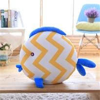 Плюшевая подушка рыба