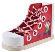 Детская игрушка-шнуровка для малышей Ботинок со шнурком