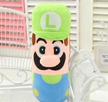 "Плюшевая подушка Луиджи из ""Супер Марио"""