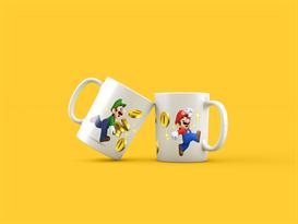 Кружка Супер Марио и Луиджи (Super Mario) купить