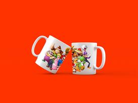 Кружка все герои Супер Марио (Super Mario) купить