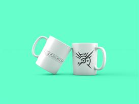 Кружка с лого Обесчещенный (Dishonored) купить