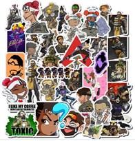 Набор Наклеек с персонажами игры Апекс / Apex Legends 50 шт