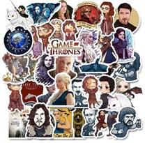 Набор наклеек Игра престолов (Game of Thrones) 50 шт купить в Росии