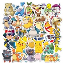 Набор наклеек Покемоны (Pokemon) 50 шт купить в России