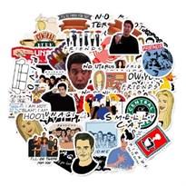 Набор наклеек из сериала Друзья (Friends) 50 шт купить в России