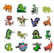 Набор наклеек Динозавры 50 шт купить