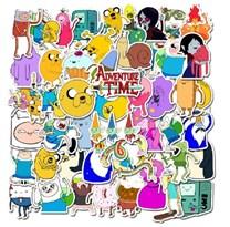 Набор наклеек Время Приключений (Adventure Time) 50 шт купить в России