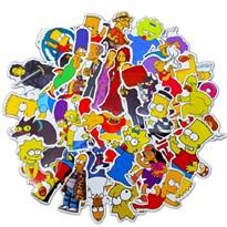 Набор наклеек Симпсоны (Simpsons) 50 шт купить в России