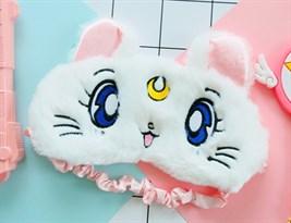 Маска для сна кошка Луна из Sailor Moon купить в России
