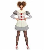 Костюм клоун Пеннивайз (Оно) женский купить в России