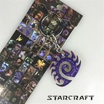 Брелок герб Зергов (StarCraft)