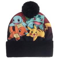 Шапка с помпоном Покемоны (Pokemon Sublimated Pom Beanie) купить