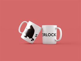 Кружка детектив Шерлок (Sherlock) купить