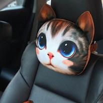 Автомобильная подушка в виде кота