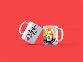 Кружка Мэрилин Монро (Marilyn Monroe) Do what you love купить