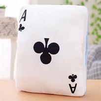 Подушка-грелка для рук в виде игральной карты (туз крестовый)