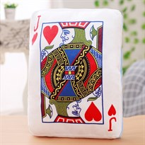 Подушка-грелка для рук в виде игральной карты (валет червей)
