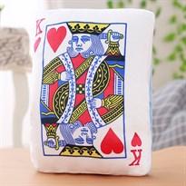 Подушка-грелка для рук в виде игральной карты (король червей)