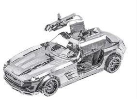 3D металлическая головоломка спортивный автомобиль бабочка купить в России