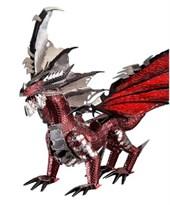 3D металлическая головоломка Черный дракон купить в России