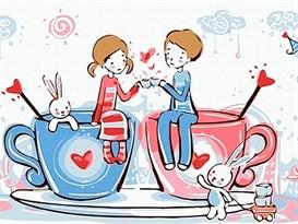 Картина по номерам Любовь купить