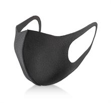 Черная многоразовая медицинская защитная маска купить в Москве