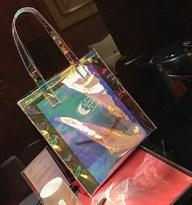 Прозрачная сумка лазер купить в России