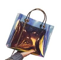 Прозрачная сумка клатч купить в России